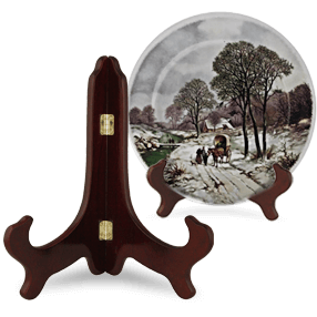 Bordenstandaard hout 15cm